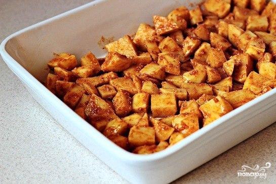 Жареный картофель с пармезаном - фото шаг 3