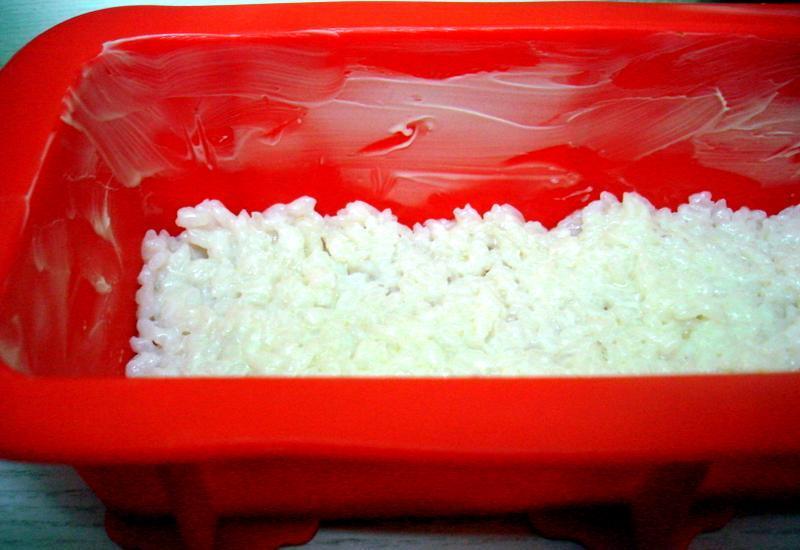 Рисовая запеканка с яблоками - фото шаг 5