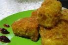 Жареный сыр бри в панировке