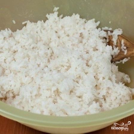 Рис для роллов в мультиварке - фото шаг 4