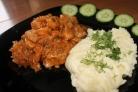 Картофельное пюре со свининой
