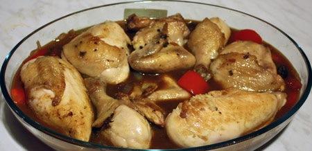 Курица с болгарским перцем - фото шаг 7