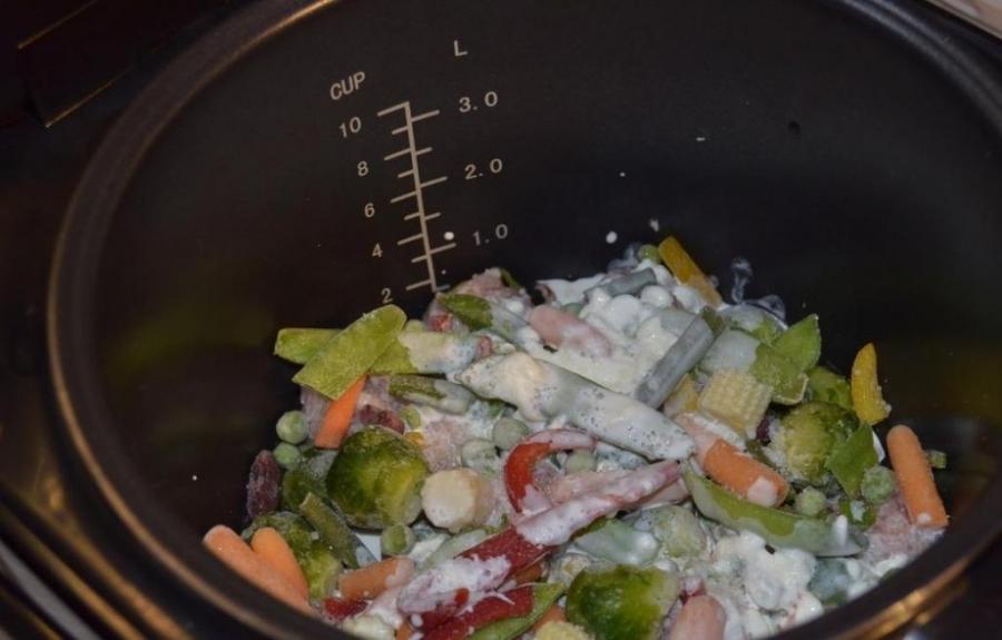 Фрикадельки с овощами - фото шаг 4