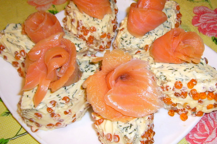 Бутерброды к празднику - фото шаг 7