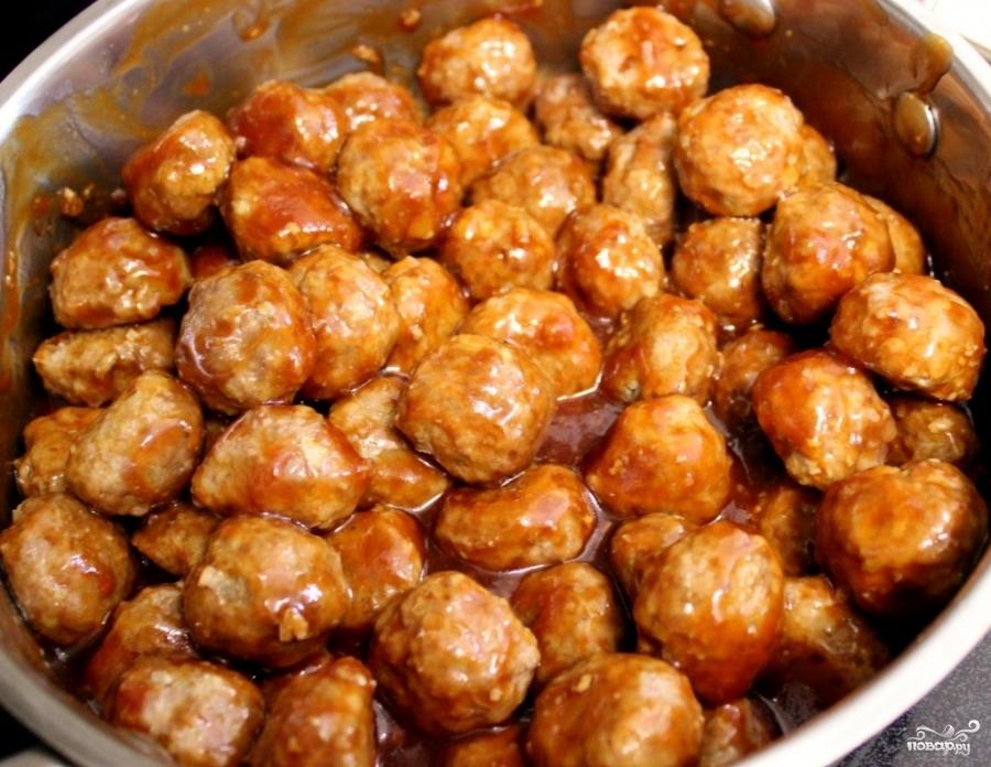 Фрикадельки в медовом соусе - фото шаг 4