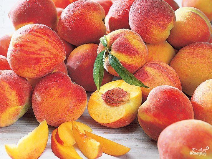 Мороженое из персиков