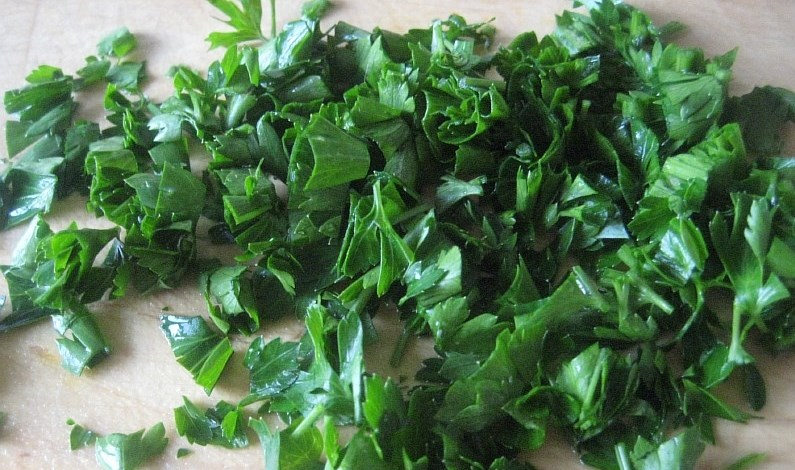 Салат из свежей цветной капусты - фото шаг 6