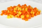Морковь тушеная с яблоками