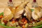 Куриное жаркое с овощами