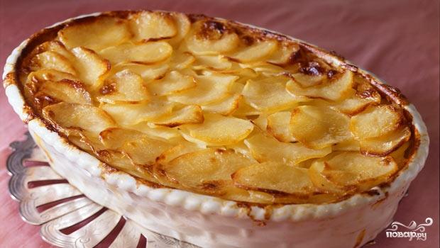 Рецепт Свинина с грибами и картофелем