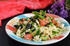 Салат с брынзой по-гречески
