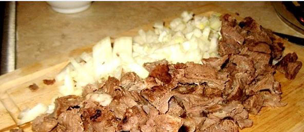 Кеспе с мясом - фото шаг 7