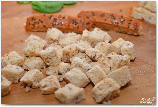 Салат из шпината, изюма и кедровых орешков - фото шаг 4