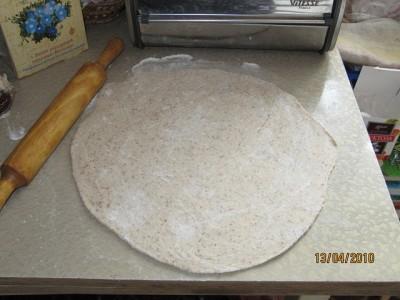 Луковая лепешка - фото шаг 4