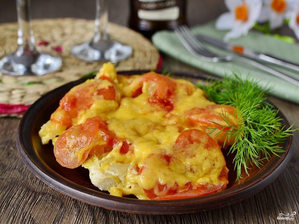 Куриное филе с ананасами