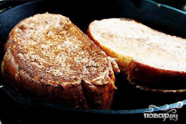 Французские тосты с фруктовой начинкой - фото шаг 5