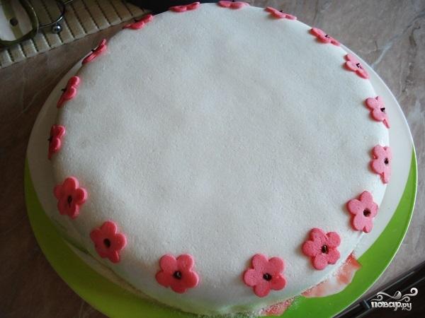 Мастика для торта из желатина
