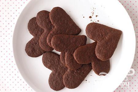 Рецепт Сладкие шоколадные сердечки