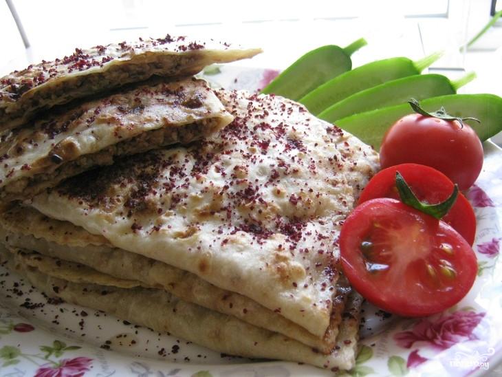 Кутабы с мясом по-азербайджански - фото шаг 9
