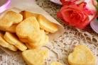 Быстрые сырные печенья