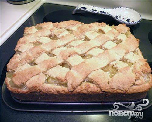 Пирог с ананасовой начинкой - фото шаг 6