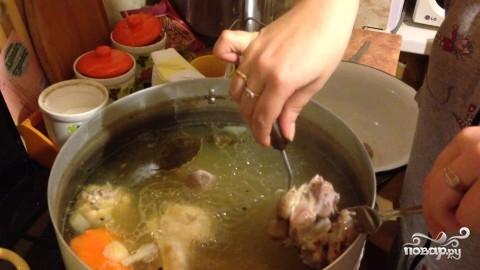 Холодец куриный без желатина - фото шаг 2