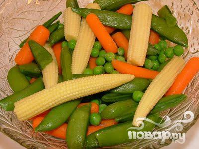 Овощной суп в азиатском стиле - фото шаг 1
