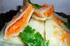 Капустные трубочки с морковью