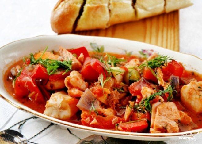 Рецепт Гуляш по-средиземноморски