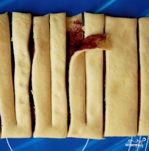 Пирожки с черникой - фото шаг 6