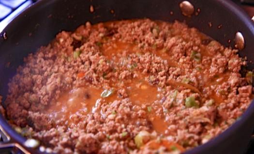 Лазанья с мясным фаршем - фото шаг 3