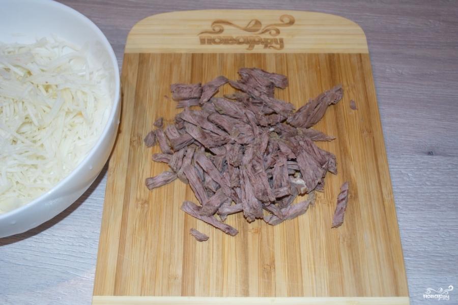 Салат из телятины - фото шаг 2