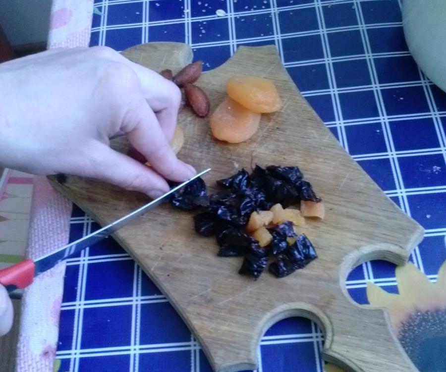 Овсяное печенье с сухофруктами - фото шаг 12