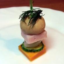 Канапе из мяса и овощей - фото шаг 12
