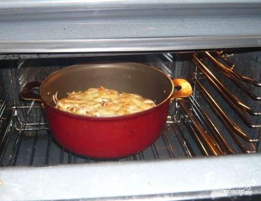 Курица по-французски с картошкой - фото шаг 8