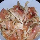 Рецепт Жареная рыба с чесноком и сыром