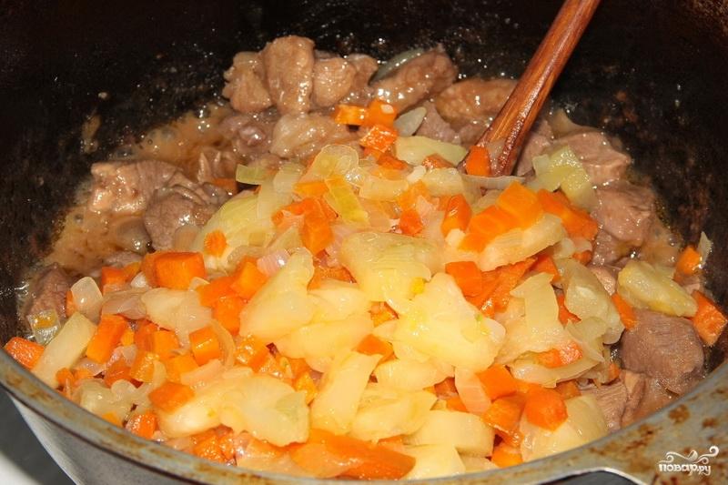 Свинина под кисло-сладким соусом - фото шаг 8
