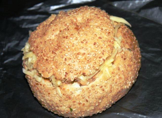 Салат в булочке - фото шаг 5