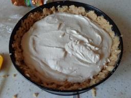 вегетарианский творожный пирог из песочного теста - фото шаг 5