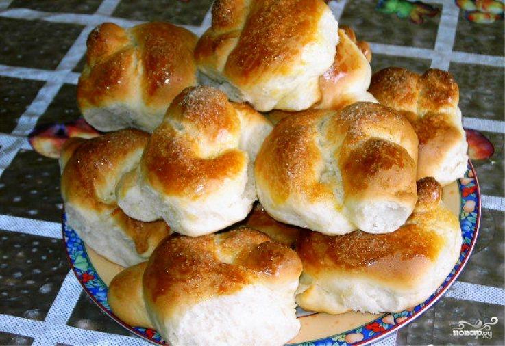 Творожное тесто для булочек