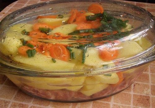 Свиные ребрышки с картошкой - фото шаг 5