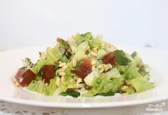 Салат с пророщенной пшеницей - фото шаг 5