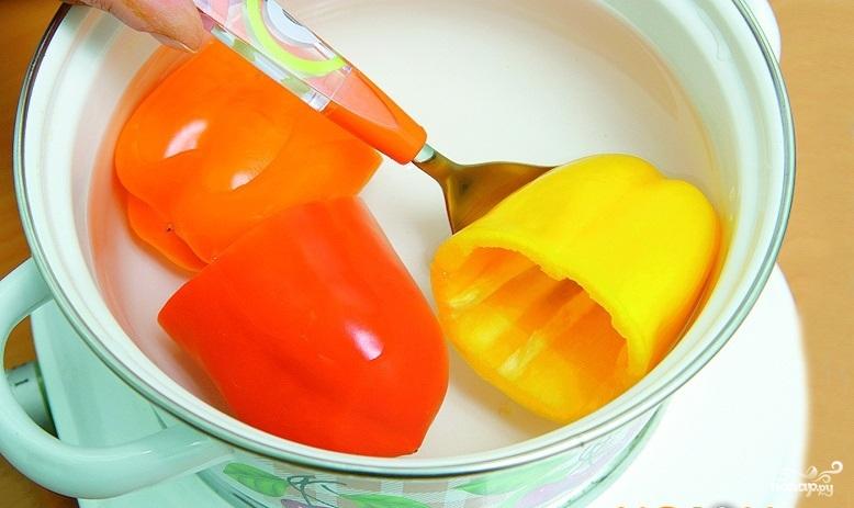 Болгарский перец, фаршированный овощами - фото шаг 2