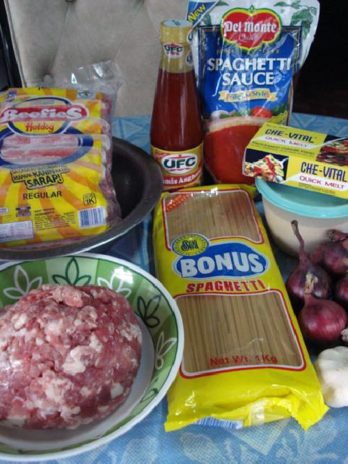 Филиппинские спагетти - фото шаг 1
