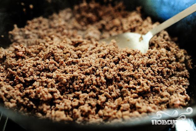 Жаркое из говядины с фасолью и помидорами - фото шаг 1