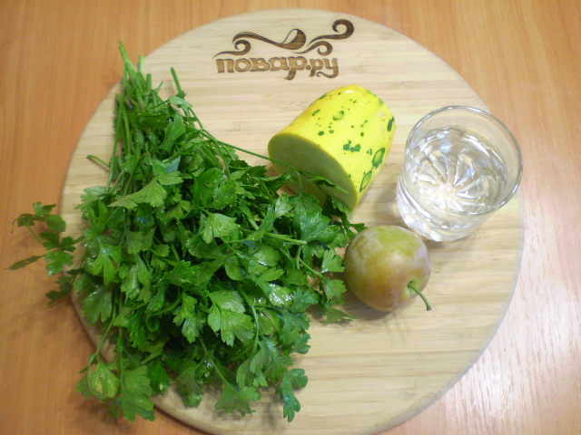 Рецепт Зеленый коктейль с кабачком