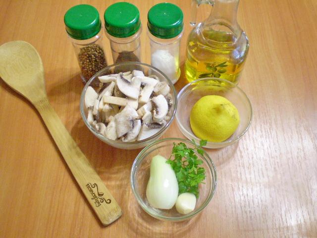 Рецепт Сыроедческие грибы