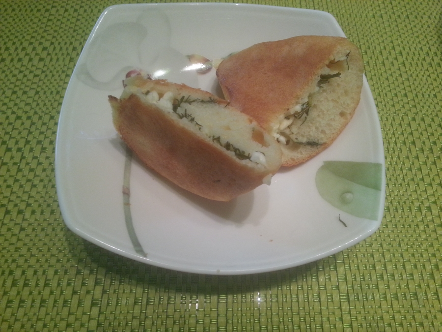 Пирожки с творогом и зеленью - фото шаг 5