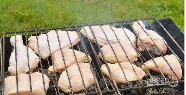 Куриный шашлык в уксусе (очень легкий рецепт)