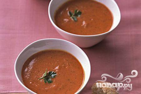Рецепт Пикантный томатный суп